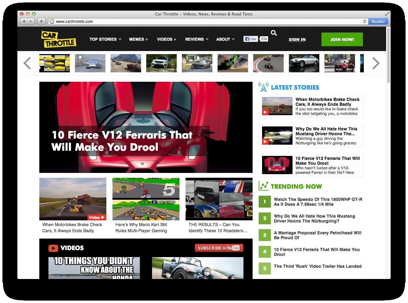 gosquared car throttle api real-time analytics - gosquared blog